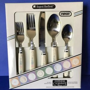 Corning Ware Sympthony Flatware For Four